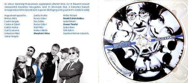 Satöbbi - Vissza a pénzt CD belső oldalak